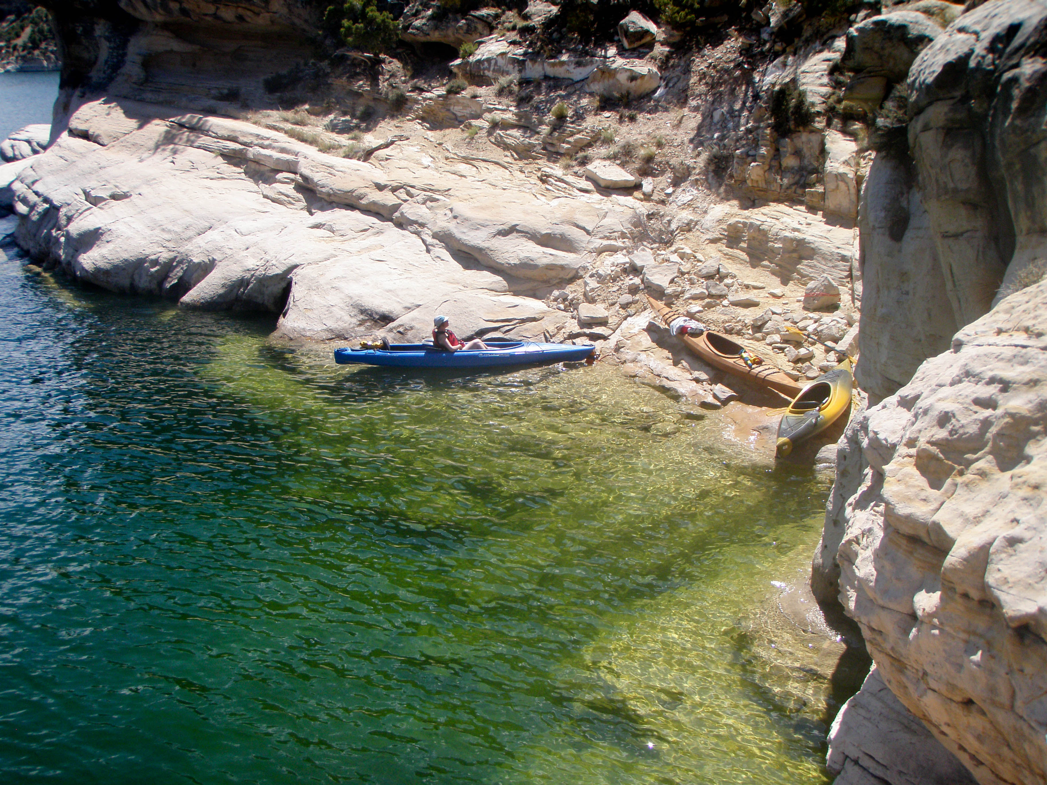 Kayaking Flaming Gorge Into The Outdoors