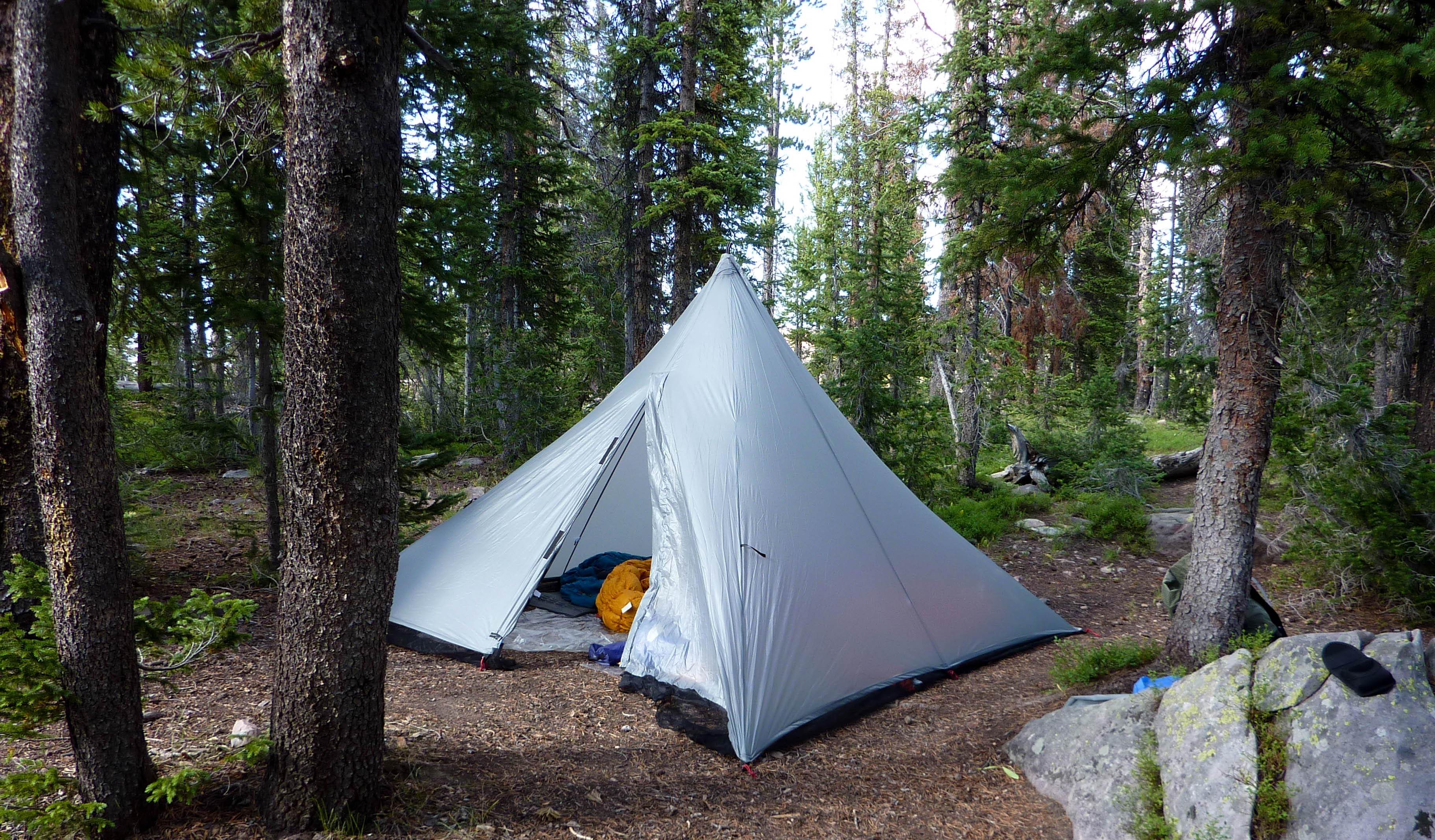 The Beauty of a Pyramid Shelter : silnylon tarp tent - memphite.com