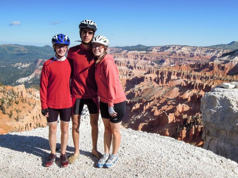 Cedar Breaks; Day 5 of a 6 day bike tour.