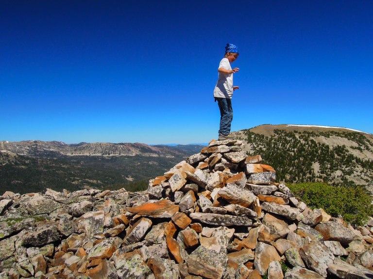 Unnamed peak in the Uinta Range.