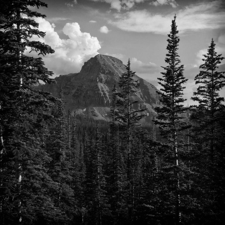 Mt. Baldy from Kamas Lake
