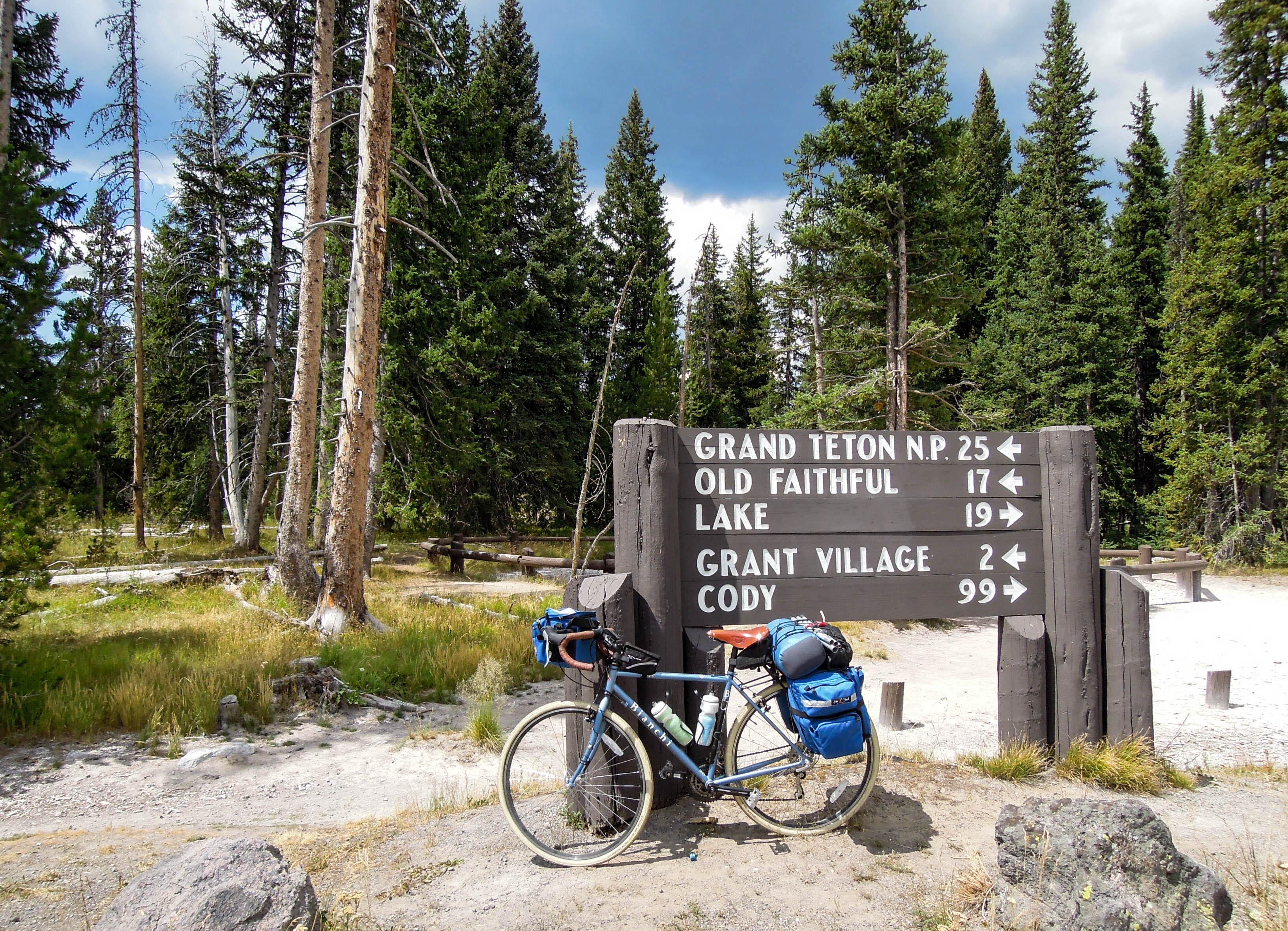 Yellowstone Bike Tour