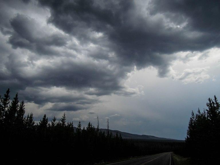 Impressive storm clouds