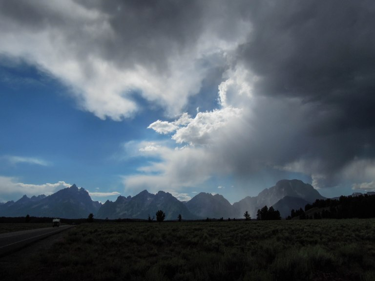 The glorious Teton Range