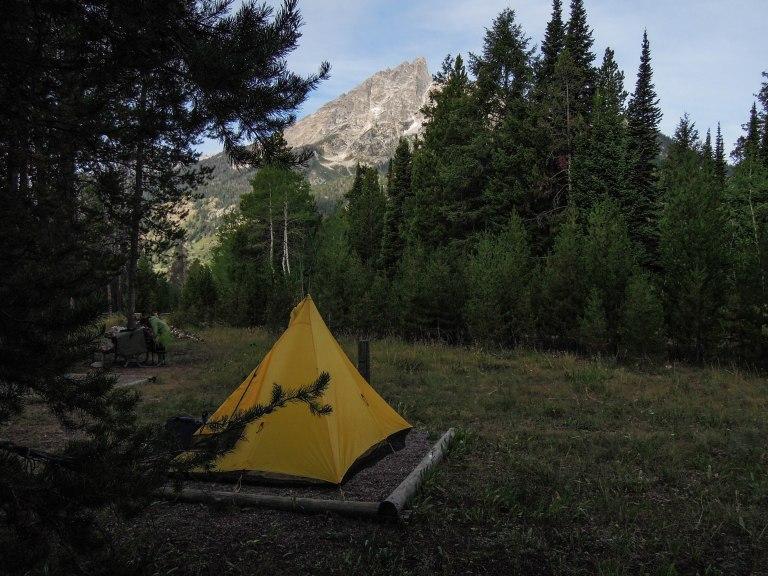 Camp at Jenny Lake
