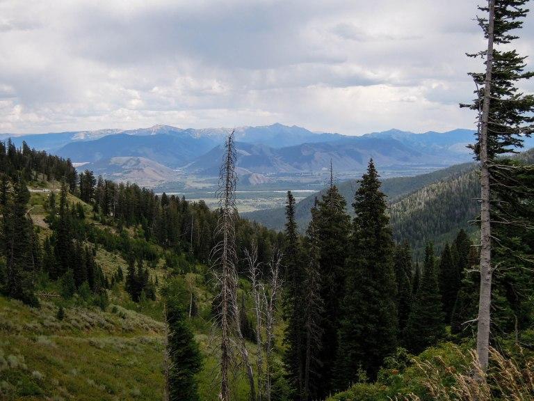 Jackson Hole from Jackson Pass