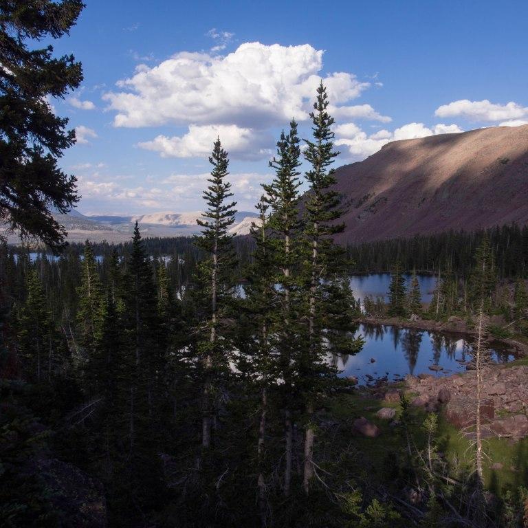 Pond, Heart Lake, Grandaddy Lake