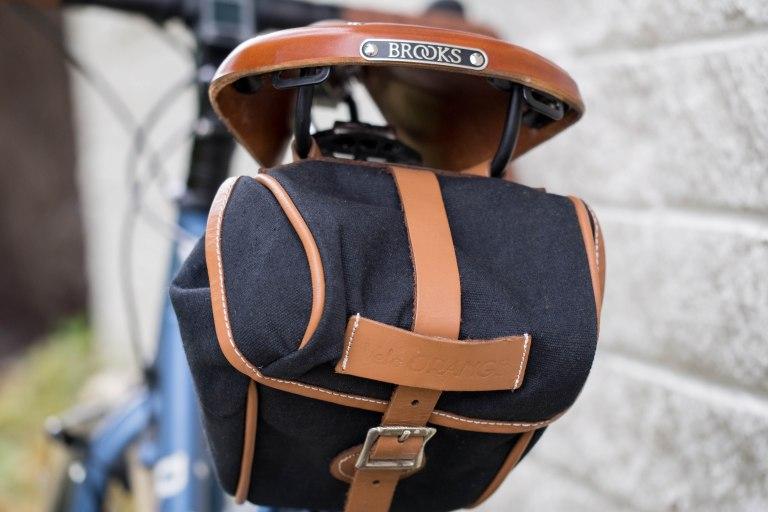Brooks saddle, Velo Orange saddle bag