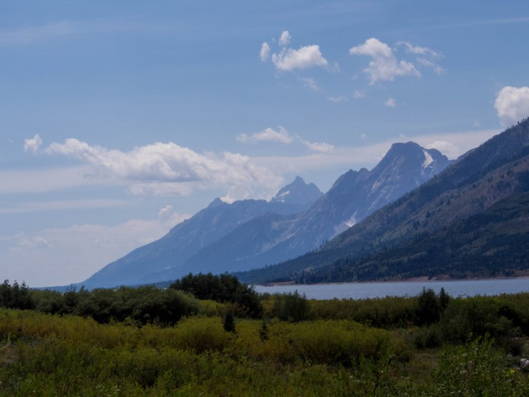 Jackson Lake and the Teton Range