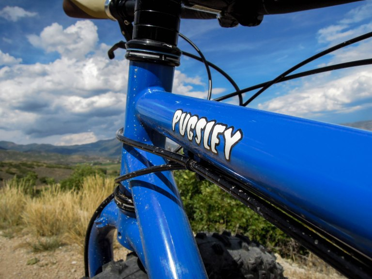 The Surly Pugsley was one of the first mass-produced (if you could call it that) fat bikes