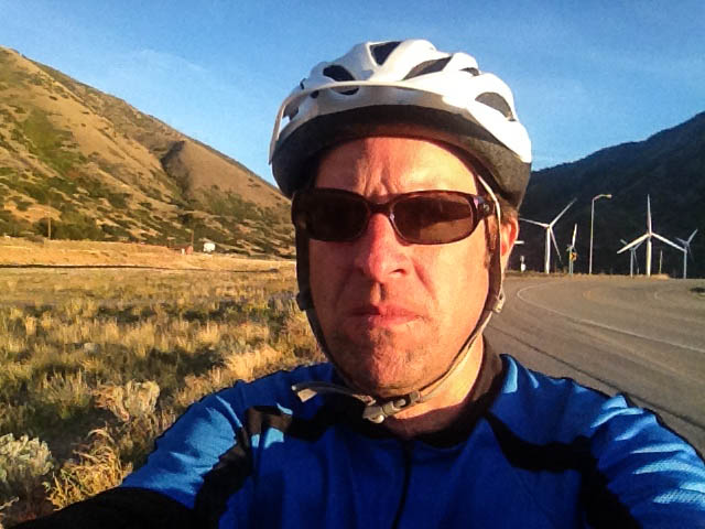 At the mouth of Spanish Fork Canyon. Only 14 miles to go.