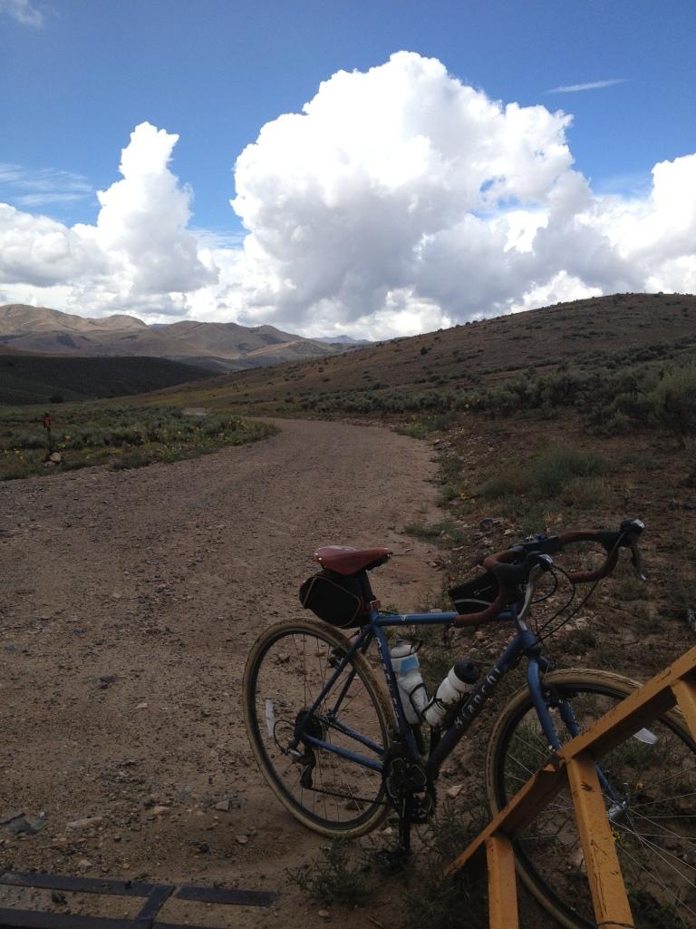 Looking back toward Goshen Canyon