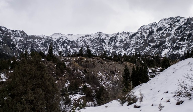 The mountains above Ouray.