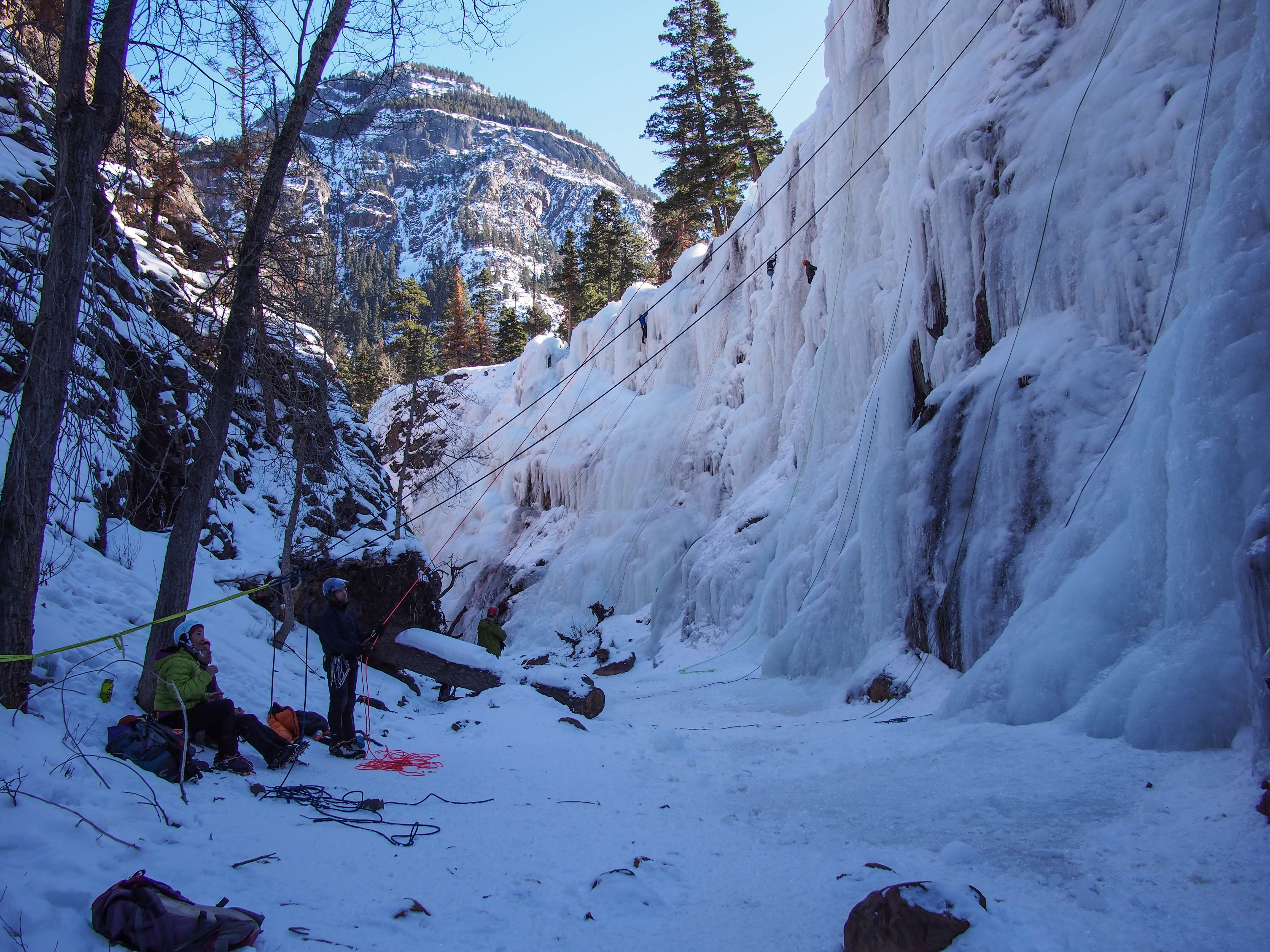 Ouray Ice Park Colorado Part 1 Into The Outdoors