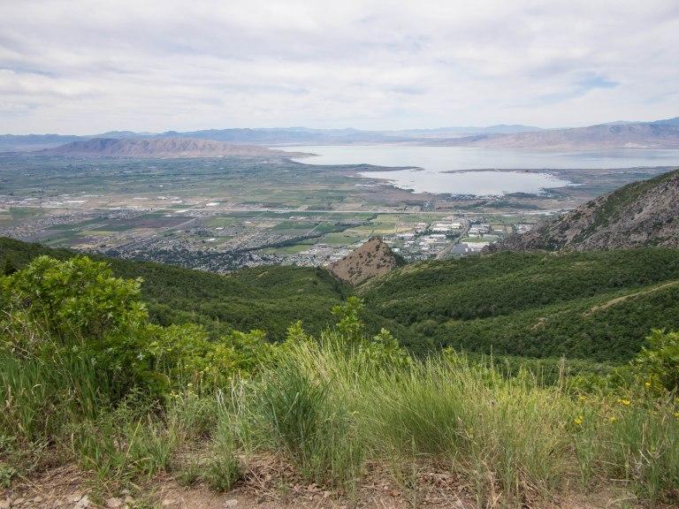 South end of Utah Valley.