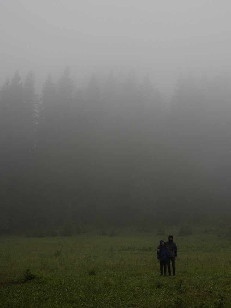 Lots of mist.