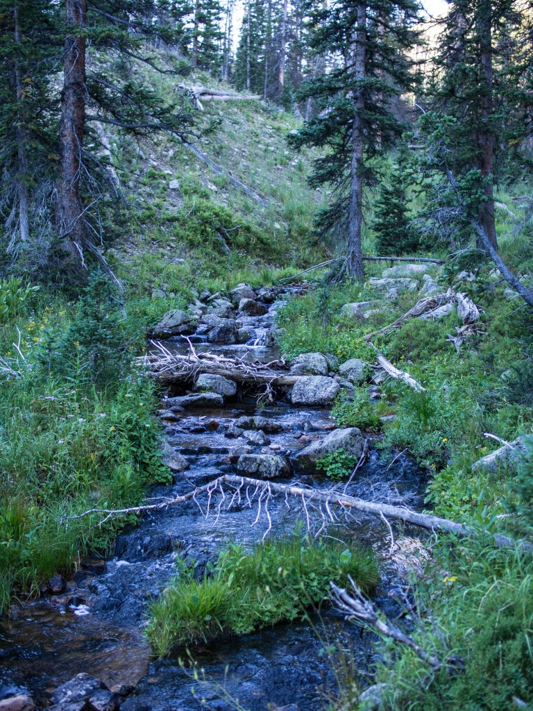 Headwaters of the MIddle Fork of the Weber River, Uinta Mountains