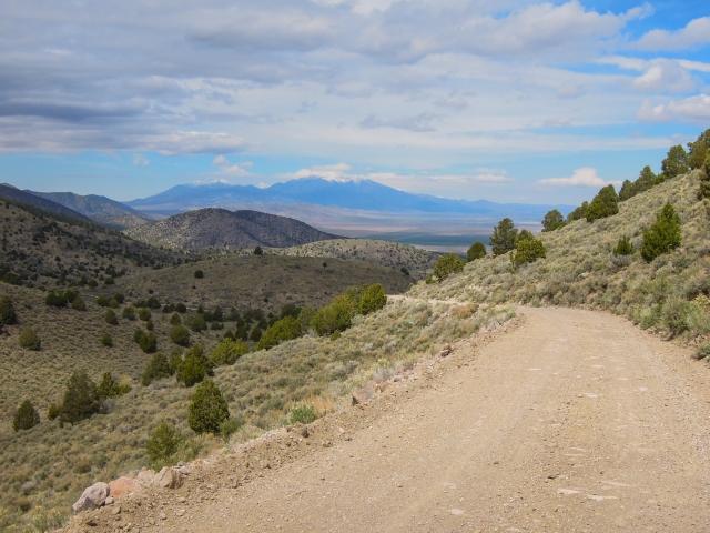 Looking back toward Cedar Valley.