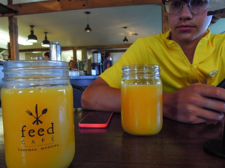 It's hard to beat cold, fresh-squeezed orange juice.