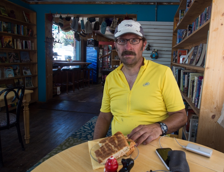 Lunch in Gardiner, MT